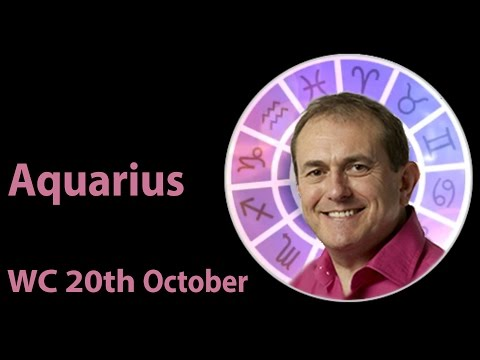 Aquarius Weekly Horoscope from 20th October 2014