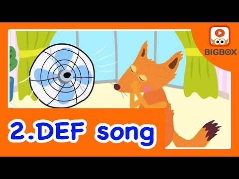 DEF | ABC Song | Phonics Song | Alphabet Song | Learn Phonics And The Alphabet For Kids