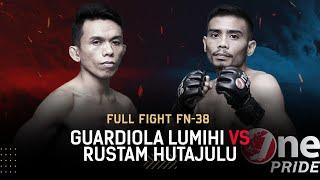 Agresif! 🔥 Guardiola Lumihi vs Rustam Hutajulu || Full Fight One Pride MMA FN-38