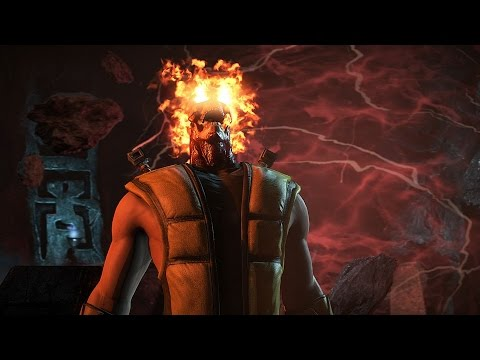 Mortal Kombat X Scorpion Klassic Fatality Toasty On Predator