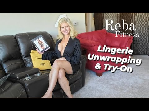 Lingerie Surprise Unwrapping \u0026 Try-On Reba Fitness