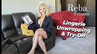 Lingerie Surprise Unwrapping & Try-On Reba Fitness