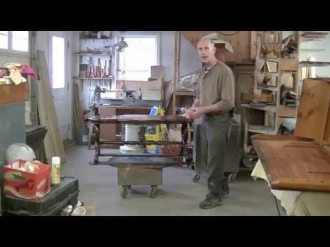 Restoring a Victorian Table - Thomas Johnson Antique Furniture Restoration