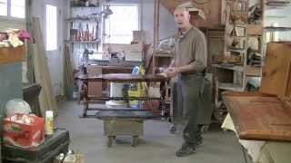 Restoring A Victorian Table - Thomas Johnson Antique Furniture Restoration