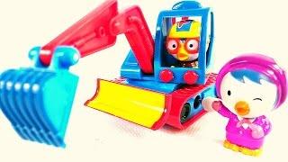 Игрушечные Супер Истории - Пингвиненок Пороро - Мультик с игрушками - Играем  в машинки