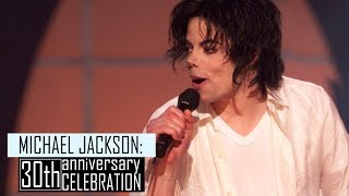 Michael Jackson - 30th Anniversary Celebration Concert - Remastered HD - GMJHD