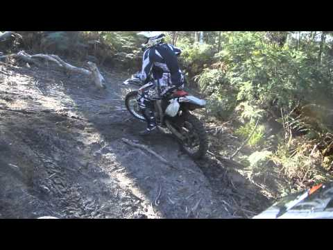 Muddy track in Tasmania on my GasGas 300.mp4