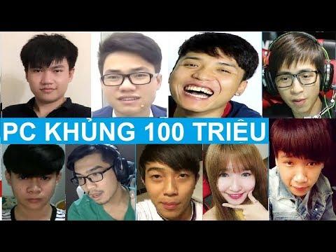 Top 10 Dàn PC Trăm Triệu Của Các Youtuber Gamer Việt Nam Cực Chất