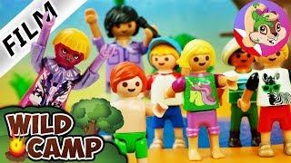 Playmobil Rodzina Wróblewskich - PIERWSZY Challenge w programie WILD CAMP - kto przejdzie dalej?