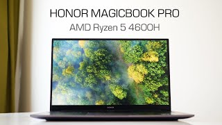 "Обзор ноутбука HONOR MagicBook Pro (16.1"", AMD Ryzen 5, 16/512Gb)"