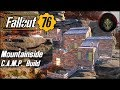 Multi-Level Mountainside House | FALLOUT 76 - Camp Building Guide