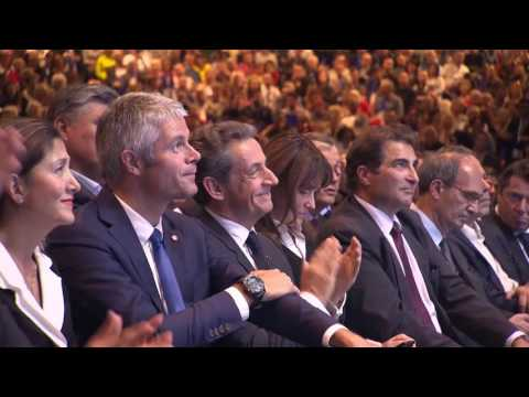Grand meeting de Nicolas Sarkozy au Zenith-Paris, dimanche 9 octobre