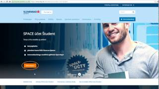 SLSP Space účet Študent - tutoriál