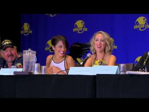 Stephanie Speaks Irathian. Defiance Panel Dragon Con