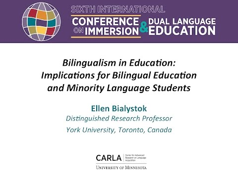 Bilingualism in Education: Implications for Bilingual Education and Minority Language Students