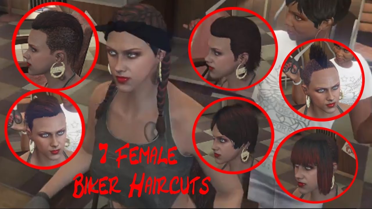 Hair Styles Online: The 7 New Female Haircuts From The Bikers