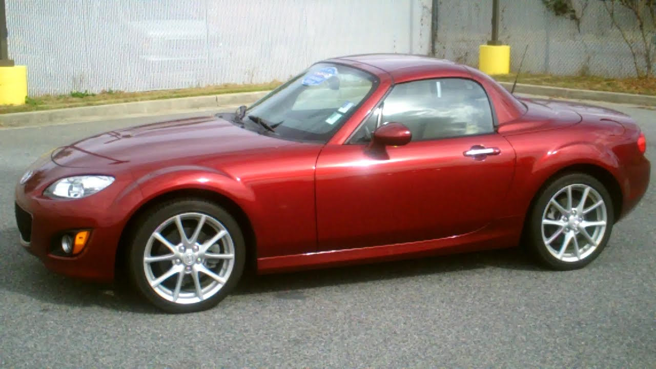 2010 mazda mx 5 miata 2dr convertible grand touring youtube. Black Bedroom Furniture Sets. Home Design Ideas