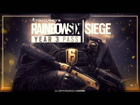 TUDO SOBRE O SEASON PASS ANO 3 | Preços, Conteúdos e Mais!! - Rainbow Six: Siege