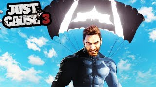JUST CAUSE 3 BATMAN MOD! (THIS IS SO INSANE!) | SuperRebel