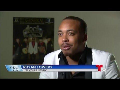 """Rhyan Lowery, """"El Compa Negro"""" es mexicano. Nació en Alta California..."""