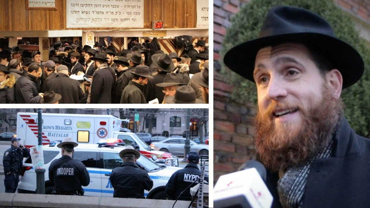 Rabbi Yoni Katz fights antisemitism in NYC with outreach and guided tours | David Menzies