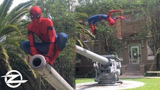 SPIDERMAN HOMECOMING PARKOUR | In REAL LIFE!