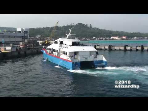 SuperCat 38 Arriving at Calapan Port