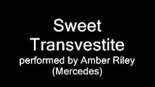 Sweet Transvestite --Glee