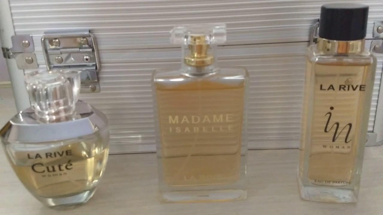 5b68f47aea Meus perfumes La Rive (contratipos e suas inspirações ) - YouTube