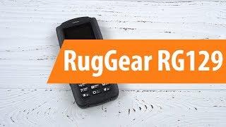 Распаковка RugGear RG129 / Unboxing RugGear RG129