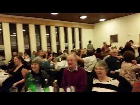 Great Neil Diamond singalong at the Uniting Friends fundraising quiz