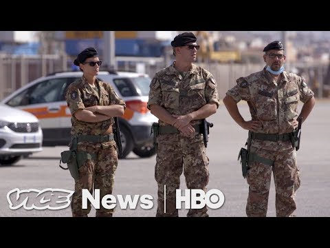 Migrant Crisis in Italy & Cooking Kelp: VICE News Tonight Fu