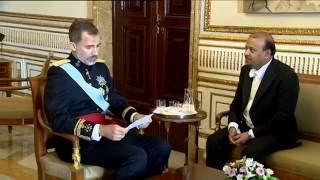 El embajador de Djibouti presenta sus Cartas credenciales a S.M. el Rey