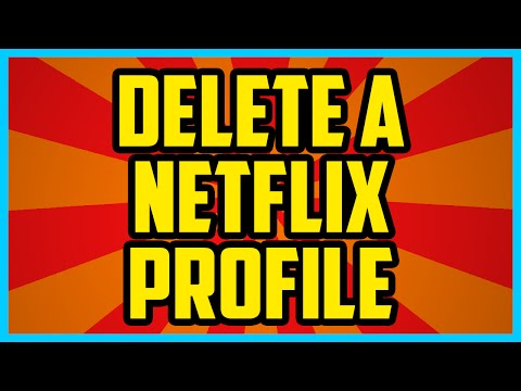 How To Delete A Netflix Profile 2017 QUICK & EASY  How To remove A Netflix Profile