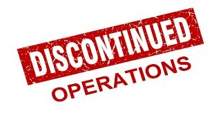 Module 4, V3 - Discontinued Operations (IFRS)