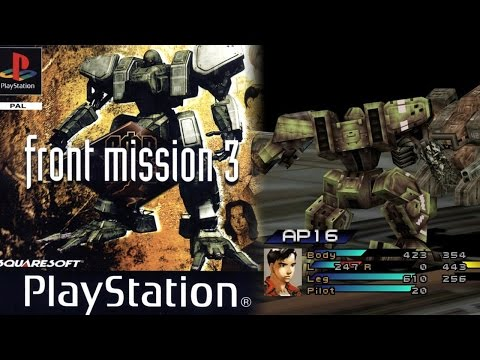 Front Mission 3: игра для PlayStation One