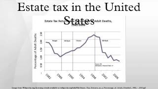Estate tax in the United States