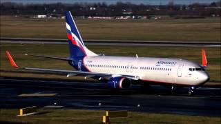 Аэрофлот Boeing 737-800, VP-BRF, С. Образцов. Посадка и руление(, 2014-05-17T08:48:27.000Z)