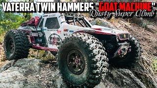 "Vaterra Twin Hammers ""Goat Machine"" - Dusty Super Climb"