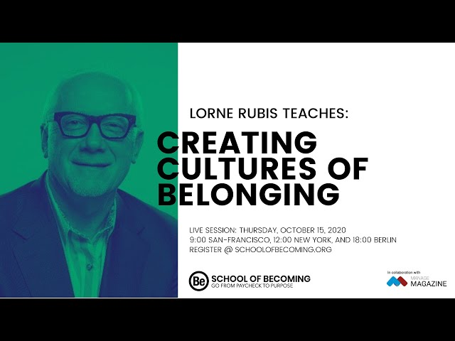 Creating Cultures of Belonging