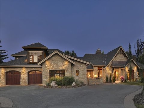 French Country Bungalow in Calgary, Canada