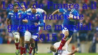 XV de France - compilation des essais- 2014-2015- !