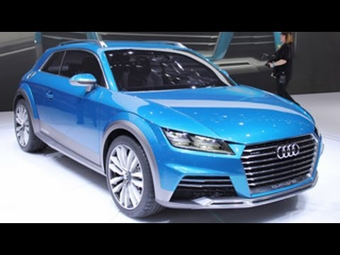 Audi Allroad Shooting Brake Concept Crossover Unveiled !