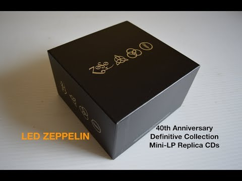 Led Zeppelin 40th Anniversary Definitive Collection Of Mini LP Replica CDs