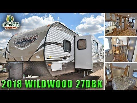new-2018-bunk-model-wildwood-27dbk-front-bedroom-travel-trailer-rv-colorado
