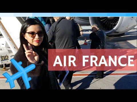 Primera vez volando con AirFrance vlog #16 Esmeralda nomada4ever