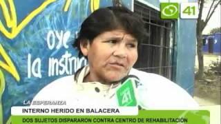 2 sujetos dispararon contra centro de rehabilitación - Trujillo