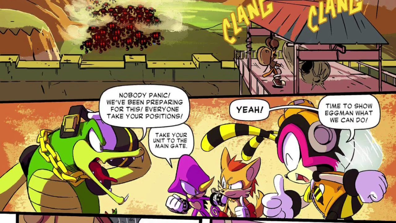 Sonic Forces Comic Archives