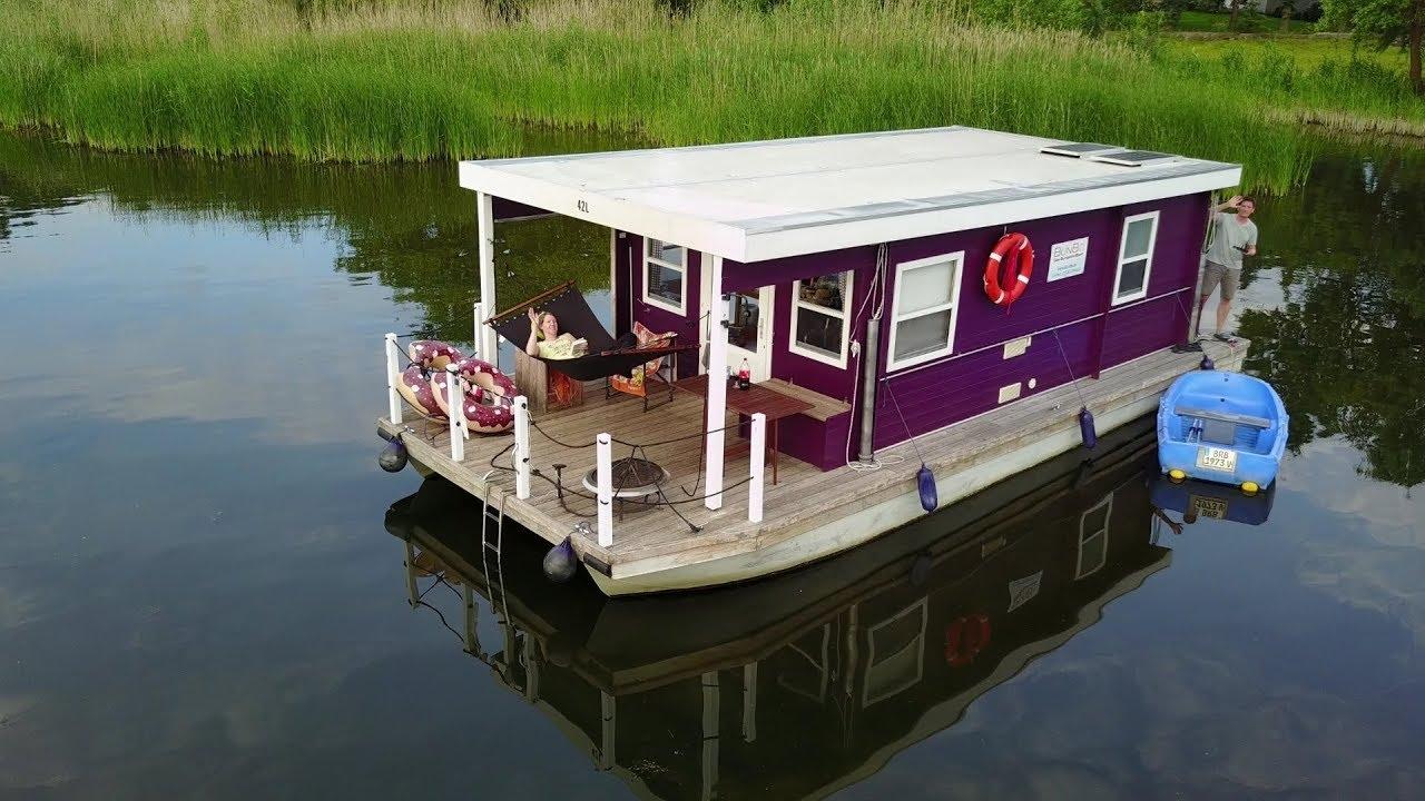 BunBo Hausbooturlaub auf der Havel im Mai ☀ - YouTube