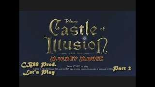CB88 Productions: Let's Play Disney's Castle of Illusion Starring Mickey Mouse (Part 2)